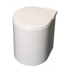 Kos na smeti okruhly 270 biely plast