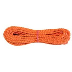 Lano umelé  6 mm/20m oranžové