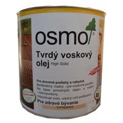 Osmo 3032 tvrdý voskový olej bezfarebný polomatný 2,5l