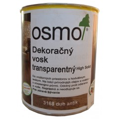 OSMO 3168 vosk dekoračný transp. dub antik 2,5l