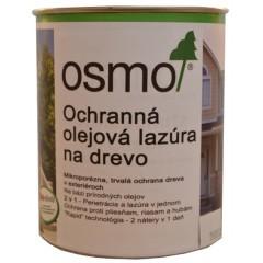 OSMO 900 ochranná olejová lazúra biela 0,75l
