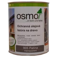 OSMO 905 ochranná olejová lazúra patina 2,5l