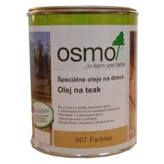 OSMO 007 olej špeciálny na teak bezfarebný 2,5L