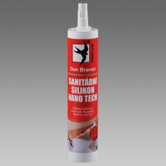 Silikon sanitárny transparent 310ml RED line