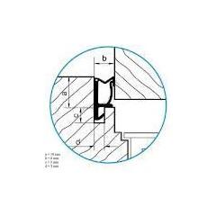 Tesnenie ok. prídavné ACF 5473 - biele   (bal 240m)