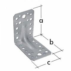 Uholnik mont. s rebrom KP 4,    D 0044 (70x70x55x2,5)