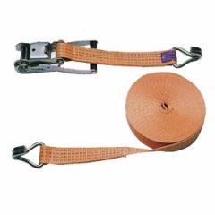 Pás upínací račoňový 4t, 8m/50mm, 2-dielny, oranžový, KERBL