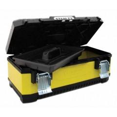 "Kufor 26""(66cm) STANLEY kov/plast (žltý)"