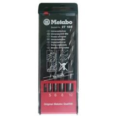 METABO vrták univerzálny 4-diel. sada 5,6,8,10