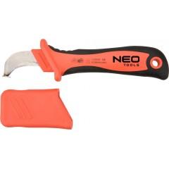 NEO nôž elektrikársky zahnutý 1000V, 190 mm