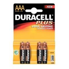 Batéria alkal. AAA 1,5V DURACELL (4ks)