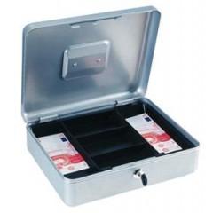 Kazeta na peniaze strieborná 90x300x245mm
