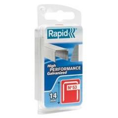 RAPID spony oceľové 53 8mm (1080ks)