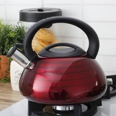 Čajník PEARL červený 3l