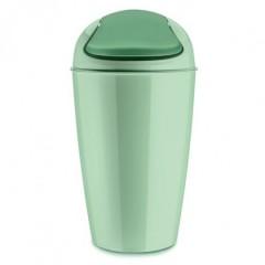 KOZIOL DEL XL odpadkový kôš s poklopom 30l mätová