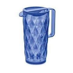 KOZIOL CRYSTAL džbán 1,6l modrá