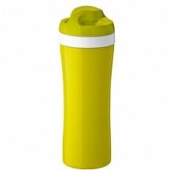 KOZIOL OASE fľaša na vodu 425ml horčicovo biela