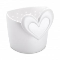 KOZOL SUSI sitko na čaj biela