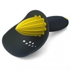JOSEPH JOSEPH CATCHER odšťavovač so sitkom sivý / žltý