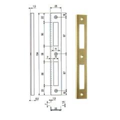 Protiplech AGB rohovy hranaty univerzalny Ms 590.17.03