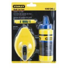 STANLEY 0-47-443 šnúra označ. 30m + OPP + vodováha