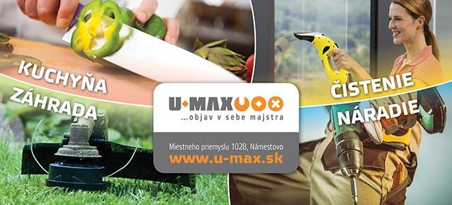 U-max kuchyna zahrada naradie cistenie