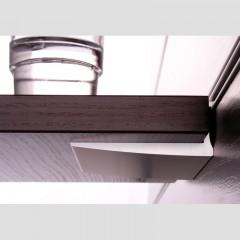 Zavesny system AL listovy - uchytenie 18 mm poličky