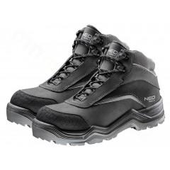 NEO obuv pracovná nubuk, čierna v.43