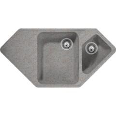Kuchynský drez SCHOCK rohový ART C150 Granite Colorado