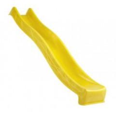Detská šmýkačka HDPE 49,5x290cm - žltá