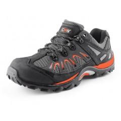 Trekkingová obuv ISLAND IBIZA čierno-oranžová