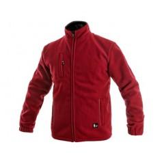 Bunda OTAWA fleecová červená