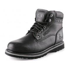 Pracovná obuv ROAD CLARKE čierna
