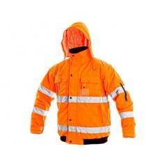 Bunda LEEDS výstražná oranžová