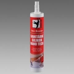 Den Braven silikon sanitárny biely 280ml RED line 30212RL
