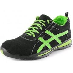 Pracovná obuv ISLAND GAVI O1 čierno-zelené