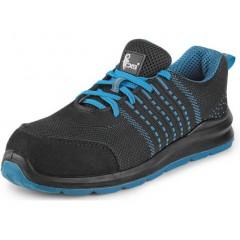Pracovná obuv ISLAND KORNAT O1 čierno-modrá