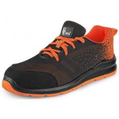 Pracovná obuv ISLAND CRES S1 čierno-oranžová