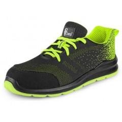 Pracovná obuv ISLAND RAB S1 čierno-zelená