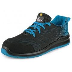 Pracovná obuv CXS SILBA S1P ESD čierno-modrá