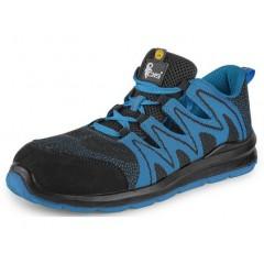Pracovná obuv TEXLINE MOLAT S1P čierno-modrá