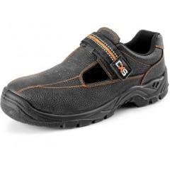 Pracovná obuv STONE NEFRIT S1 čierna