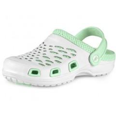 CXS TREND sandále bielo-tyrkysové