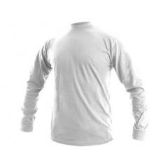 Tričko PETR dlhý rukáv biele