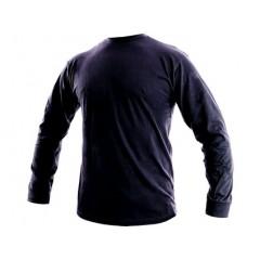 Tričko PETR dlhý rukáv tmavo modré