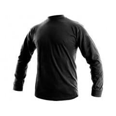 Tričko PETR dlhý rukáv čierne