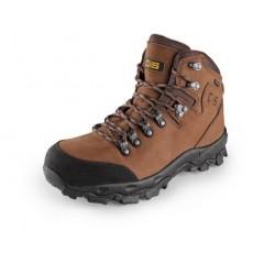 Trekkingová obuv GO-TEX MONT BLANC hnedá