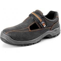 Pracovná obuv STONE NEFRIT O1 čierna