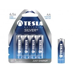 Batérie TESLA AA SIL.+ tužková (4ks)