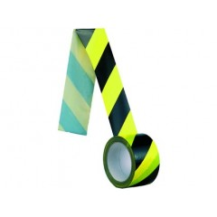 Bezpečnostná páska samolepiaca normovaná 66 m, žlto-čierna